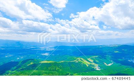 초여름의 蓼科山 등산 : 산정 치노 방면 희망 67489445