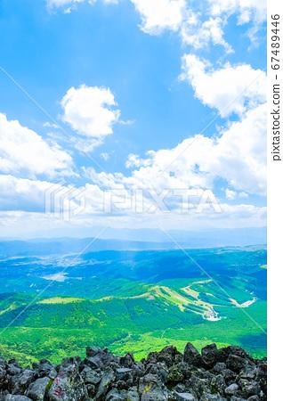 초여름의 蓼科山 등산 : 산정 치노 방면 희망 67489446