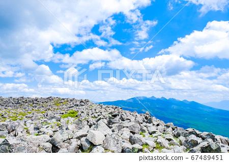 초여름의 蓼科山 등산 : 산정 타케 희망 67489451