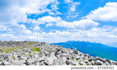 초여름의 蓼科山 등산 : 산정 타케 희망 67489481