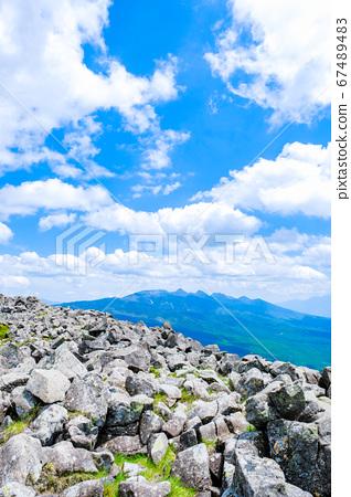 초여름의 蓼科山 등산 : 산정 타케 희망 67489483