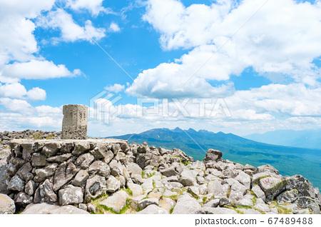 초여름의 蓼科山 등산 : 산정 타케 희망 67489488