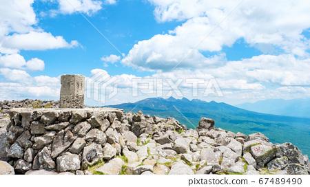초여름의 蓼科山 등산 : 산정 타케 희망 67489490