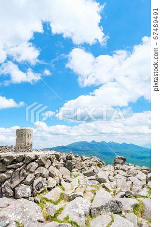 초여름의 蓼科山 등산 : 산정 타케 희망 67489491