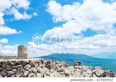 초여름의 蓼科山 등산 : 산정 타케 희망 67489492