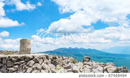 초여름의 蓼科山 등산 : 산정 타케 희망 67489494