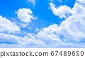 令人耳目一新的藍天 67489659