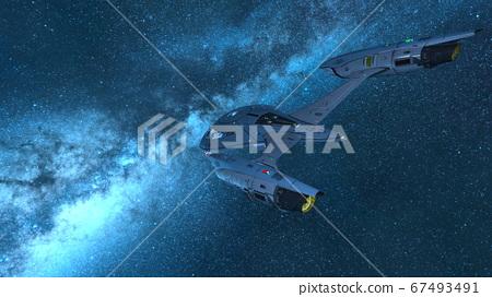 太空飛船 67493491