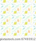 海上生活無縫圖案素材 67493912