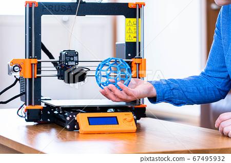 3D打印機的遠程工作 67495932