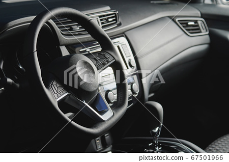 Car steering wheel with buttons 67501966
