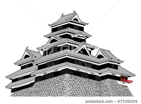Matsumoto Castle Tenson 67506009