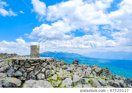 초여름의 蓼科山 등산 : 산정 타케 희망 67520117
