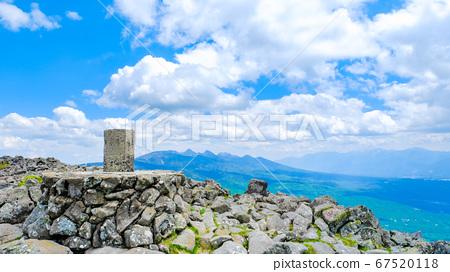 초여름의 蓼科山 등산 : 산정 타케 희망 67520118