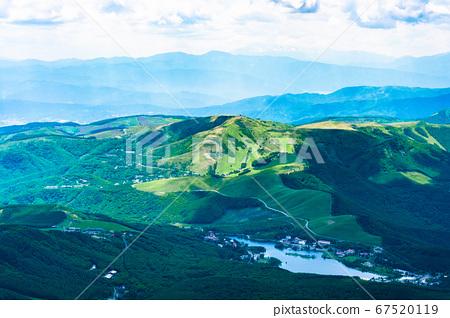 초여름의 蓼科山 등산 : 정상에서 시라 카바 · 구루마 야마 희망 67520119