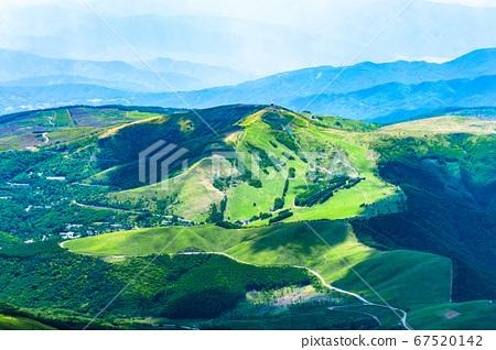 초여름의 蓼科山 등산 : 정상에서 구루마 야마 희망 67520142
