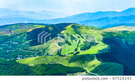 초여름의 蓼科山 등산 : 정상에서 구루마 야마 희망 67520143