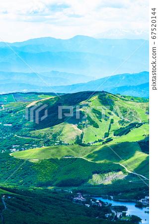 초여름의 蓼科山 등산 : 정상에서 구루마 야마 희망 67520144