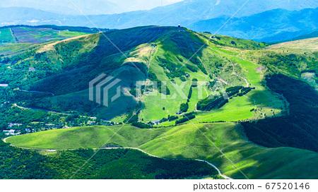 초여름의 蓼科山 등산 : 정상에서 구루마 야마 희망 67520146
