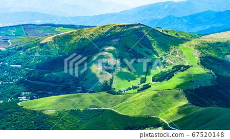 초여름의 蓼科山 등산 : 정상에서 구루마 야마 희망 67520148