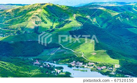 초여름의 蓼科山 등산 : 정상에서 구루마 야마 · 시라 카바 희망 67520150