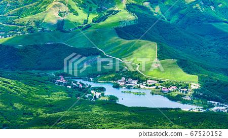 초여름의 蓼科山 등산 : 정상에서 구루마 야마 · 시라 카바 희망 67520152