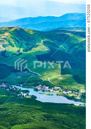 초여름의 蓼科山 등산 : 정상에서 구루마 야마 · 시라 카바 희망 67520208