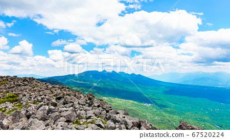 초여름의 蓼科山 등산 : 산정 타케 희망 67520224