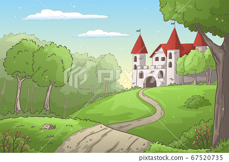 Castle in the Forest 67520735