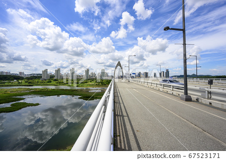 Geum River, Waterside Park, Apartment, Handuri Bridge 67523171