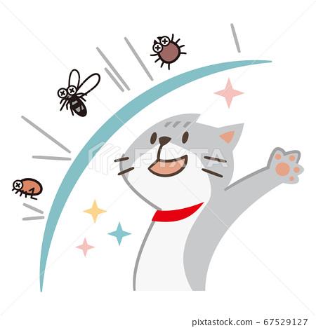 可以驅除害蟲的貓 67529127