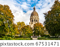 The Christuskirche, a Protestant church in Mainz, Germany 67531471