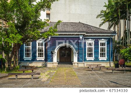 facade of Former Yilan Prison at yilan, taiwan 67534330