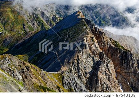 從北阿爾卑斯白馬山看風景 67543138