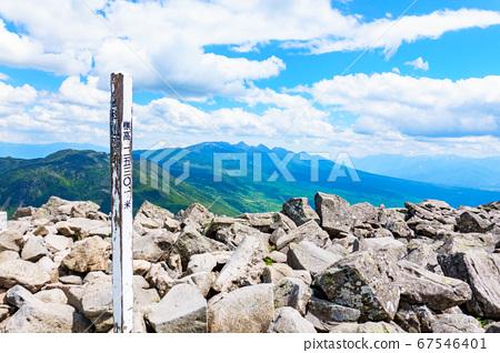 초여름의 蓼科山 등산 : 산정 타케 희망 67546401