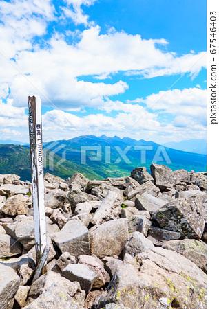 초여름의 蓼科山 등산 : 산정 타케 희망 67546403