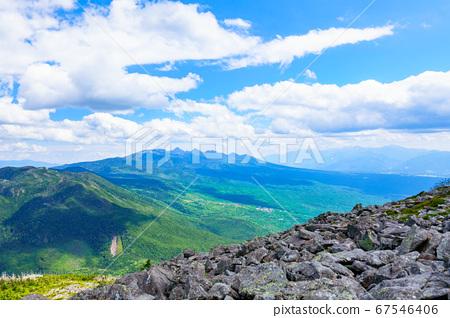 초여름의 蓼科山 등산 : 산정 타케 희망 67546406