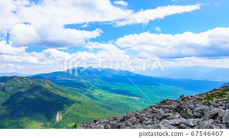 초여름의 蓼科山 등산 : 산정 타케 희망 67546407