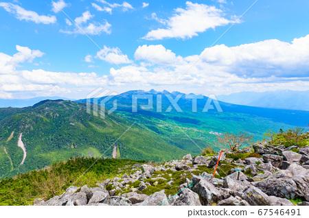 초여름의 蓼科山 등산 : 산정 타케 희망 67546491