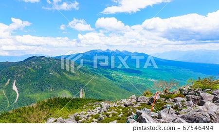 초여름의 蓼科山 등산 : 산정 타케 희망 67546494