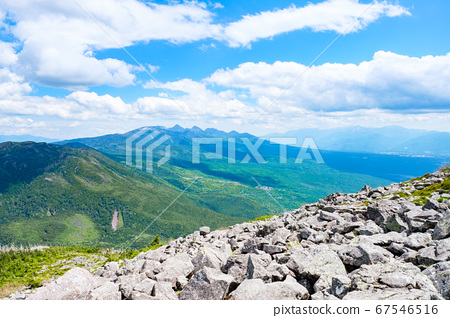 초여름의 蓼科山 등산 : 산정 타케 희망 67546516