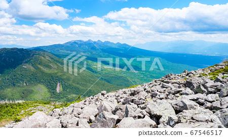 초여름의 蓼科山 등산 : 산정 타케 희망 67546517