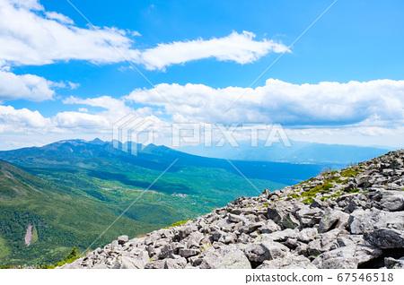 초여름의 蓼科山 등산 : 산정 타케 희망 67546518