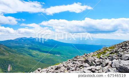 초여름의 蓼科山 등산 : 산정 타케 희망 67546519