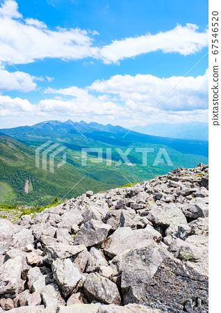 초여름의 蓼科山 등산 : 산정 타케 희망 67546520