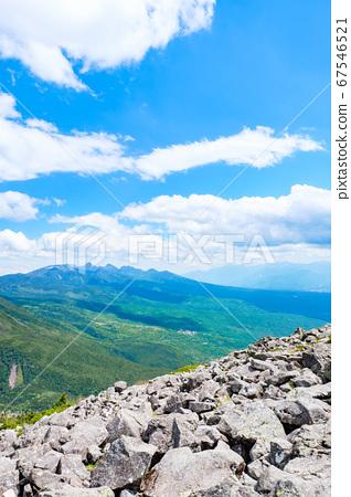 초여름의 蓼科山 등산 : 산정 타케 희망 67546521