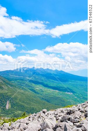 초여름의 蓼科山 등산 : 산정 타케 희망 67546522