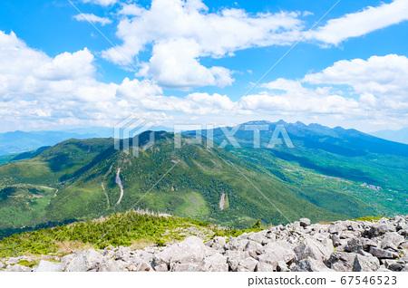 초여름의 蓼科山 등산 : 산정 타케 희망 67546523