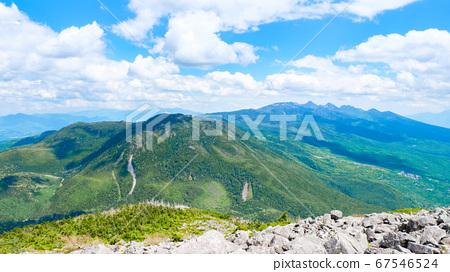 초여름의 蓼科山 등산 : 산정 타케 희망 67546524