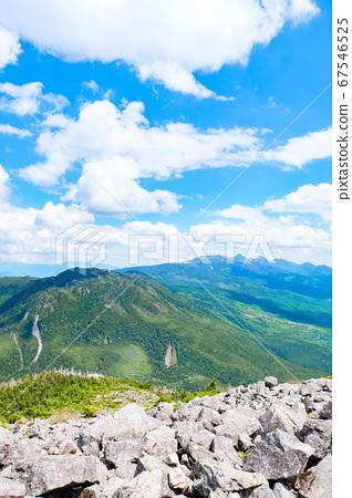 초여름의 蓼科山 등산 : 산정 타케 희망 67546525